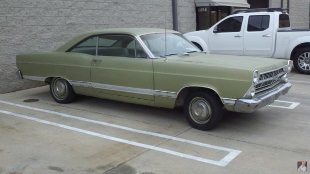 1967 Ford Fairlane with a 427 SOHC V8