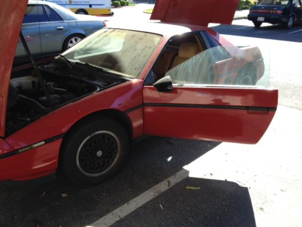 1979 VW Cabriolet on a 1988 Fiero Chassis with a Turbo Buick L67 V6