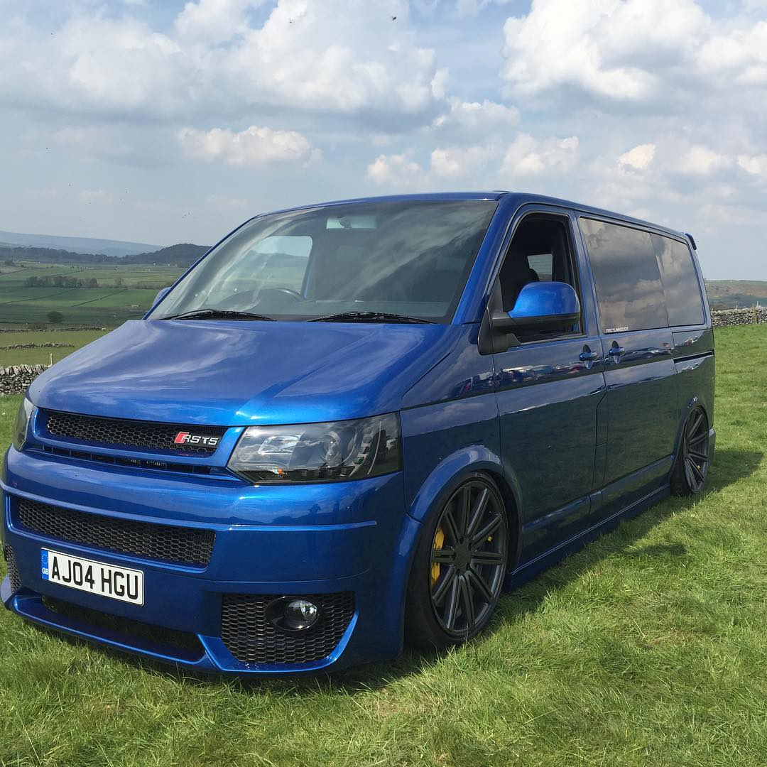 AWD VW Transporter Van with an Audi RS4 V8 – Engine Swap Depot