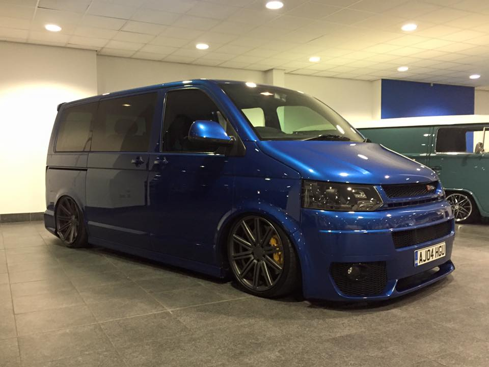 awd vw transporter van with an audi rs4 v8. Black Bedroom Furniture Sets. Home Design Ideas