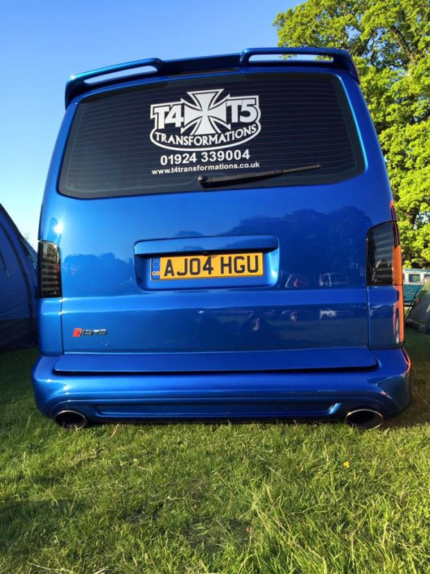 Awd Vw Transporter T Van With An Audi Rs V And Drivetrain X on Riley V8 Engine