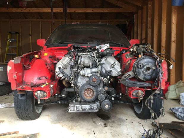 For Sale Bmw E30 With A M62 V8 Engine Swap Depot