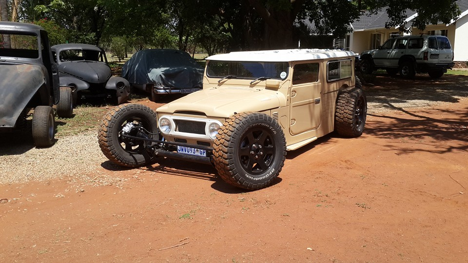 Custom Land Cruiser With A 1uz Engine Swap Depot