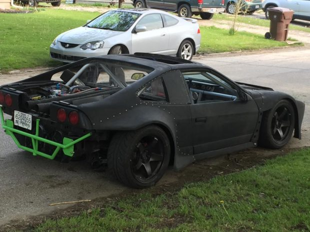Custom Widebody 1986 Pontiac Fiero with a Turbo 4G63
