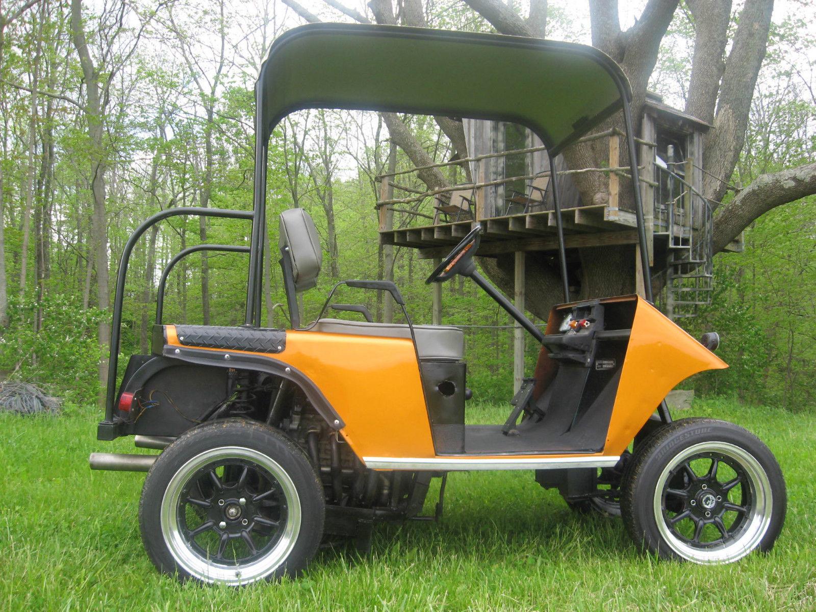 Golf Cart with a Suzuki GSX-R600 – Engine Swap Depot Build V Golf Cart on long bed cart, convertible cart, bar stool cart, 4x4 cart, f1 cart,