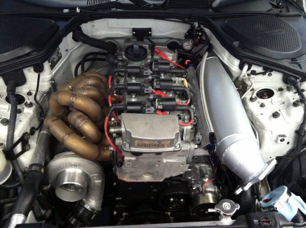 Nissan 350Z with a Turbo  2.9 L VR6