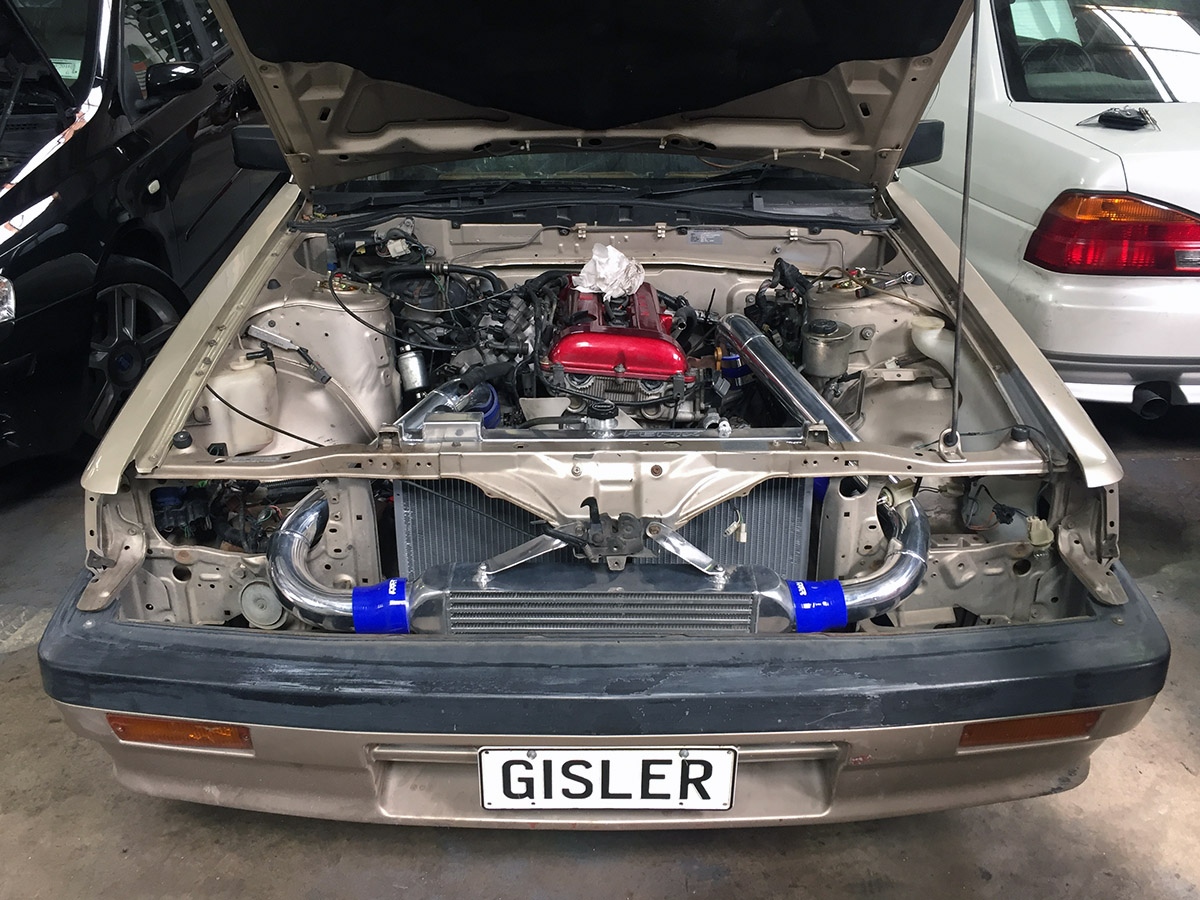 Nissan Skyline R31 With A Sr20det Engine Swap Depot 1992 Honda Civic Ex Sedan Fuse Box