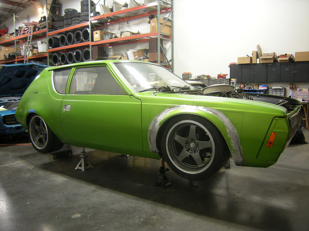 Pro-touring 1974 AMC Gremlin with a 360 ci V8