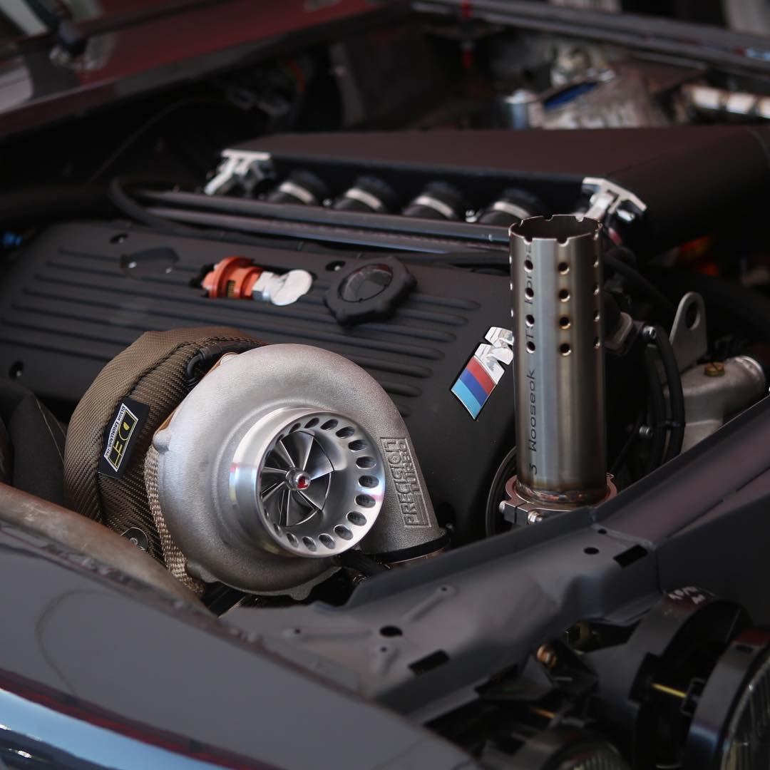 BMW E30 With A Turbo S54