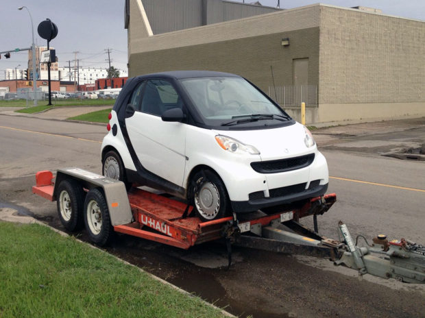 Smart Fortwo with a turbo Hayabusa motor