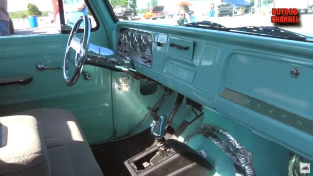 Chevy C30 with a Cummins 6BT diesel inline-six