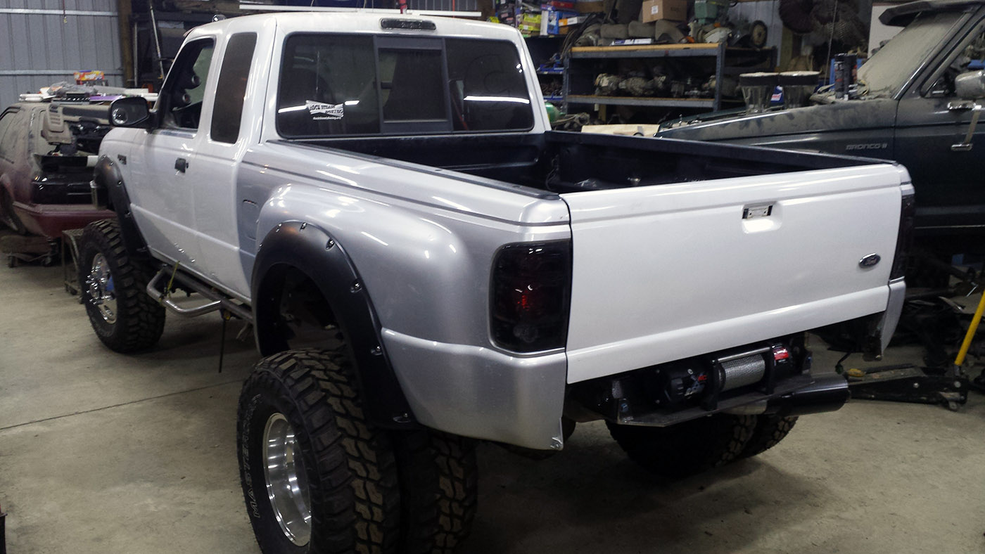 Ford Ranger 4 215 4 With A Cummins 4bt Engine Swap Depot