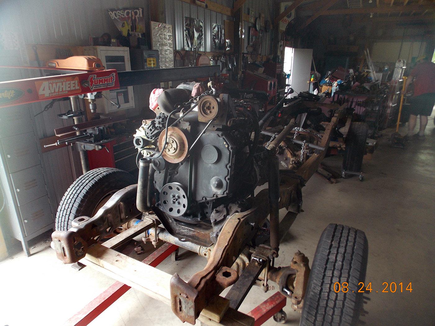 Ford Ranger 4×4 with a Cummins 4BT Diesel Inline-Four – Engine Swap