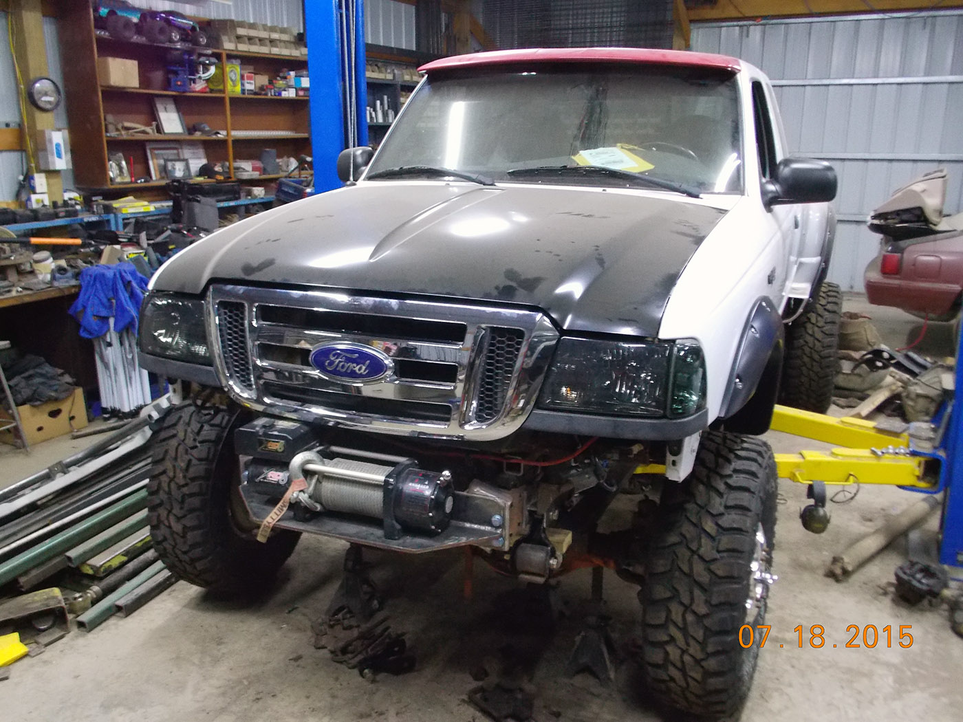 Ford Ranger 4 4 With A Cummins 4bt Diesel Inline Four Engine Swap Depot