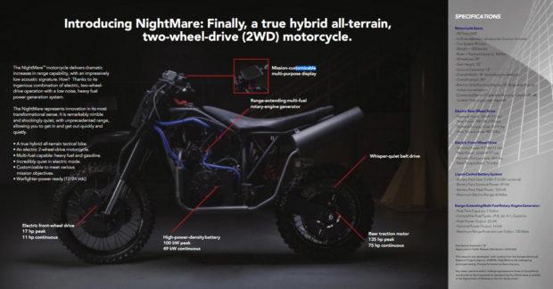 LSA Autonomy Nightmare motorcycle
