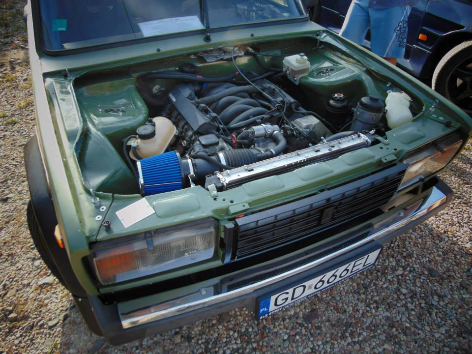 Lada 2107 With A Bmw V8 Engine Swap Depot