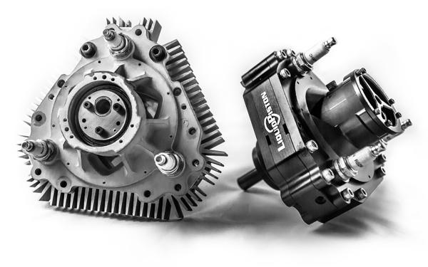 LiquidPiston rotary engine