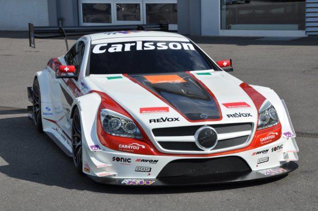 Mercedes-Judd SLK340 with a 3.4 L Judd DB V8