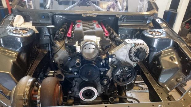 Mitsubishi Evo 8 with a Turbo LSx