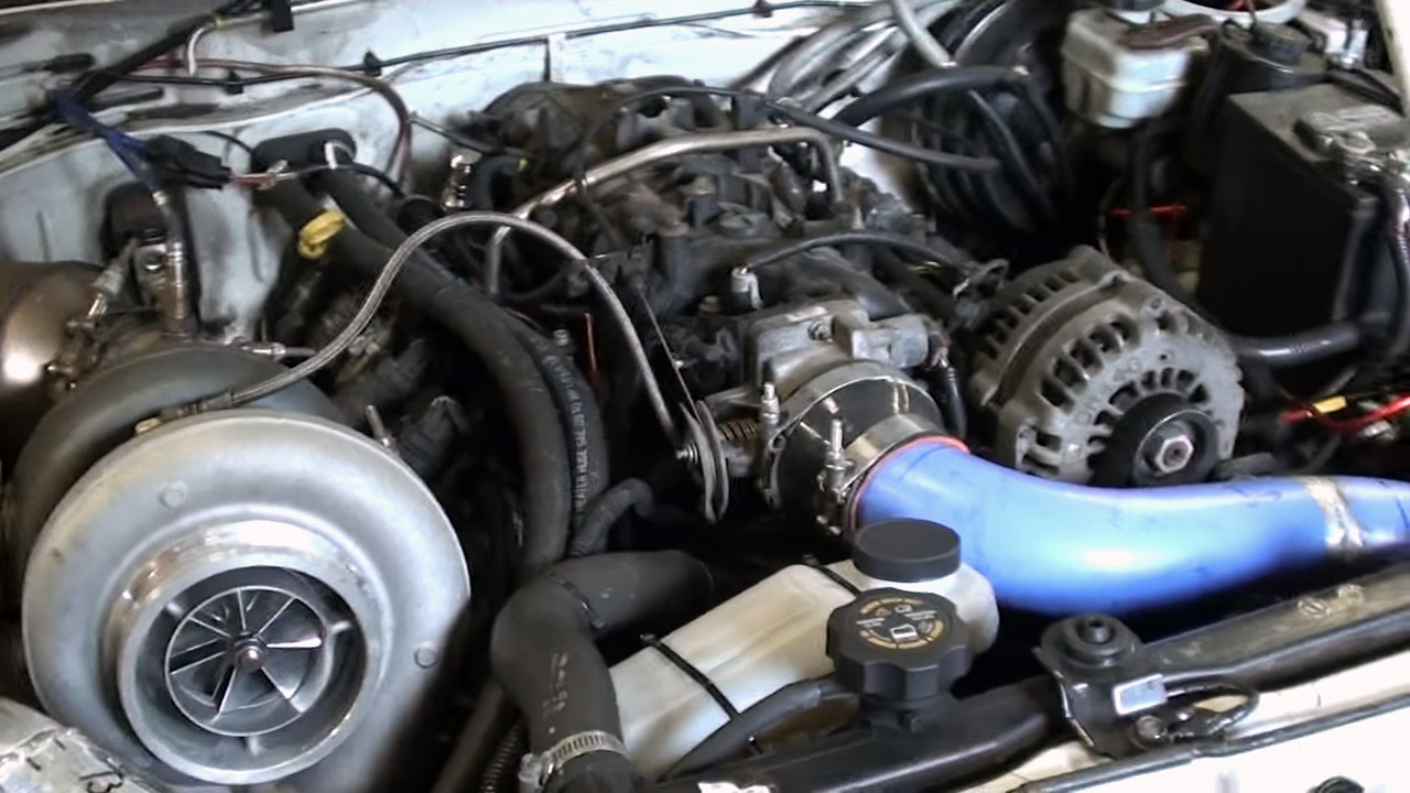 Chevy Colorado With A 796 Hp Turbo Lq4 Engine Swap Depot