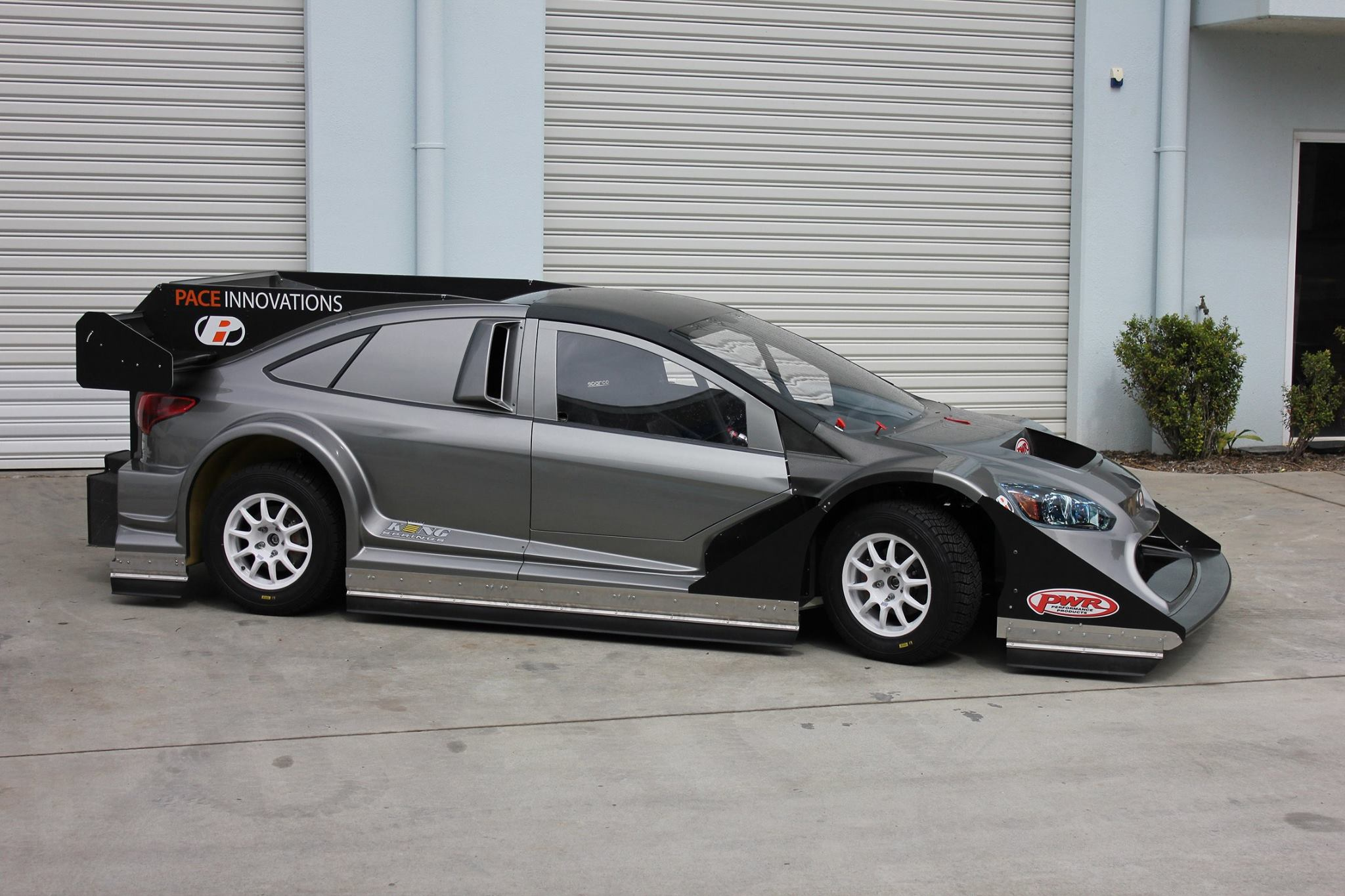 Bespoke Ford Focus With A Vr38dett