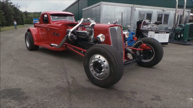 Twin-turbo V16 Detroit Diesel 16V-71 Hot Rod