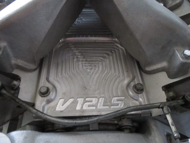 V12LS 8.6 L LSx V12 made from two LS1 engines