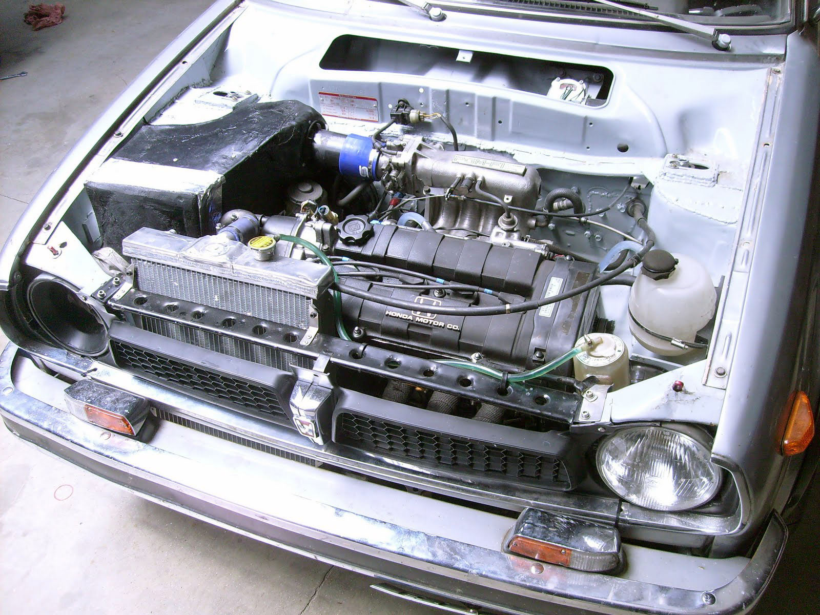 1976 Honda Civic with a D16 – Engine Swap Depot