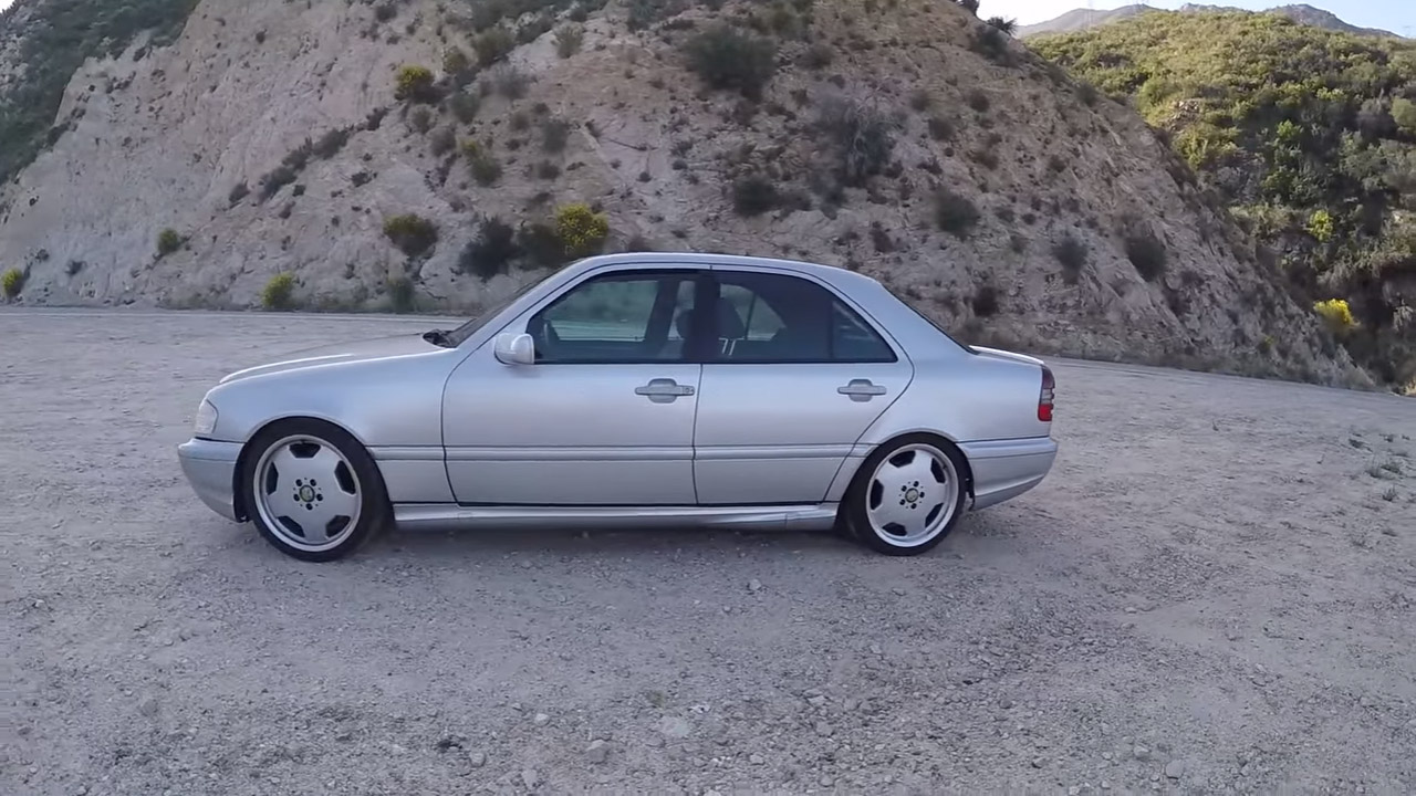 Mercedes C43 AMG with a 5 4 L V8 – Engine Swap Depot