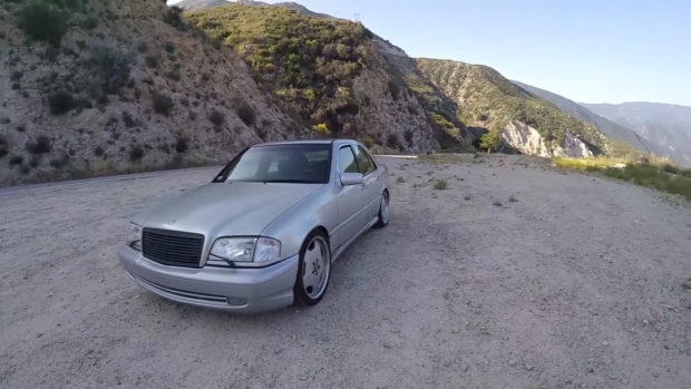 1999 Mercedes C 43 AMG with a 5.4 L M113 V8