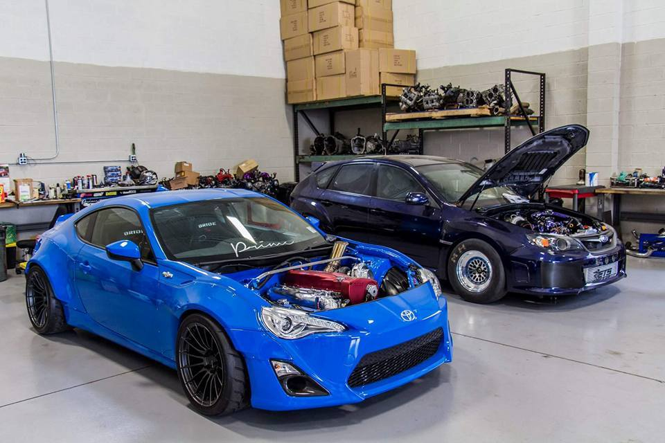 Scion Frs With A 1 000 Hp Rb26 And Skyline Awd Drivetrain