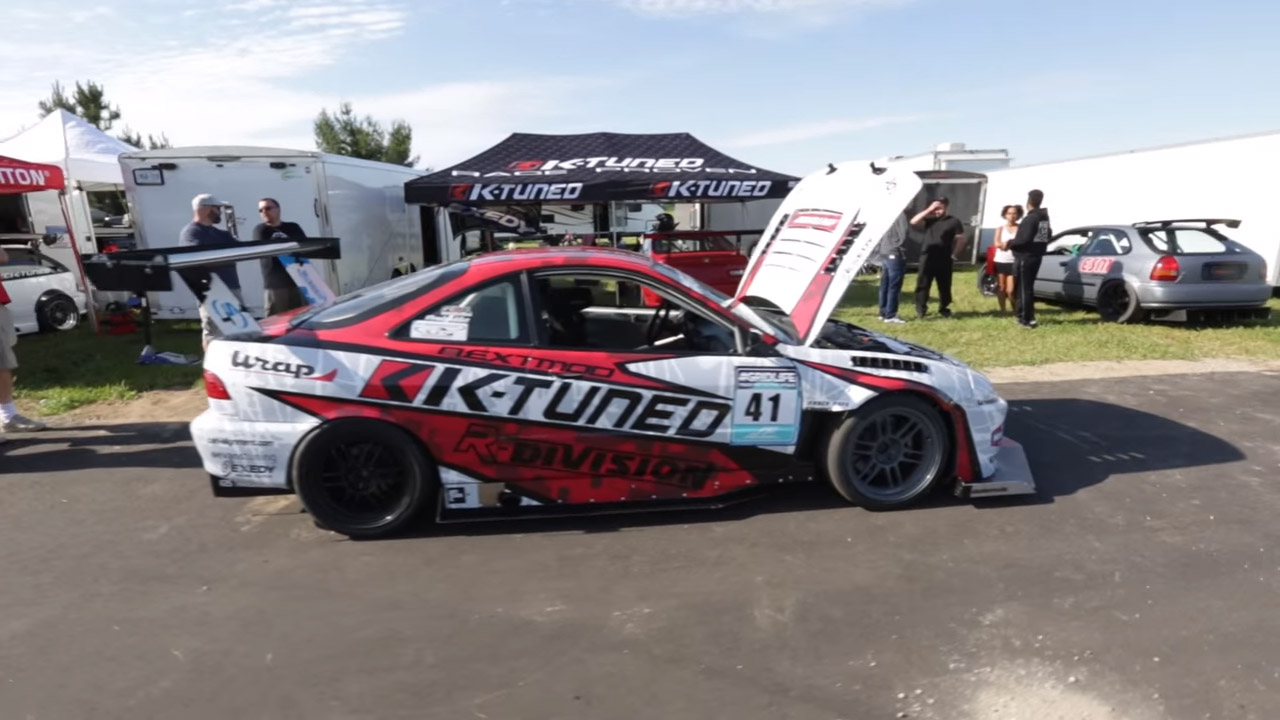 Acura Integra Type R With A Supercharged K20 K24 Engine Swap Depot