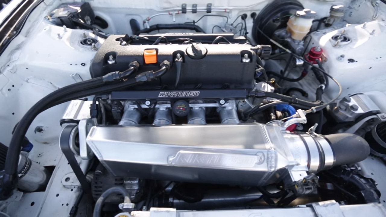 Acura Integra Type R With A Supercharged KK Engine Swap Depot - Acura integra type r engine