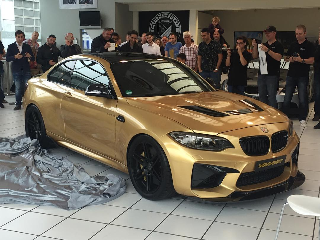 BMW M2 with a 630 HP S55 – Engine Swap Depot