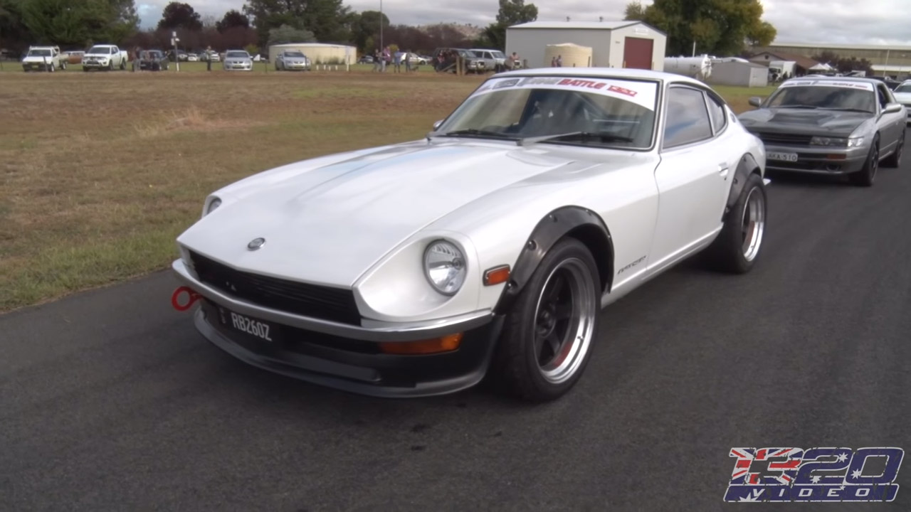 Datsun 260Z with a RB26DETT