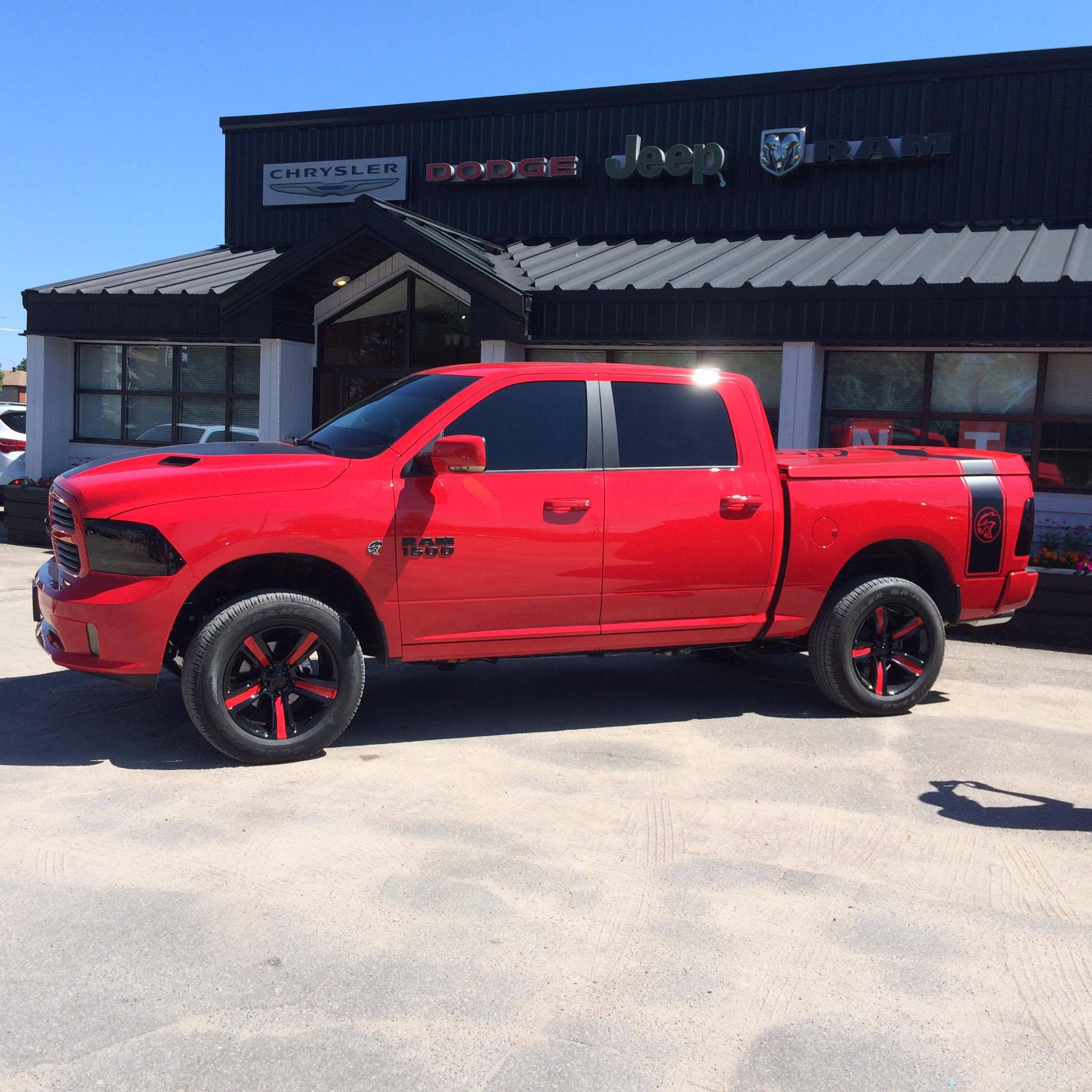 Dodge Ram 1500 with a Hellcat V8 ndash Engine Swap Depot