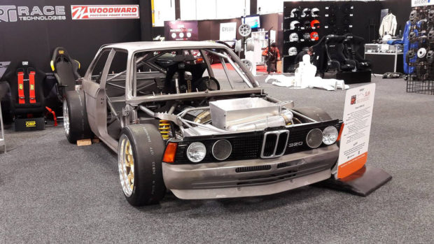 Elan Motorsport Group 5 BMW E21 with a turbo M50 inline-six