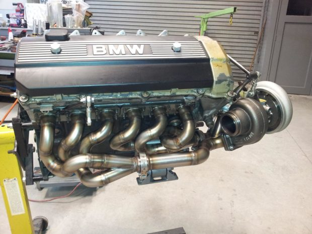 Elan Motorsport Group 5 BMW E21 with a turbo M50
