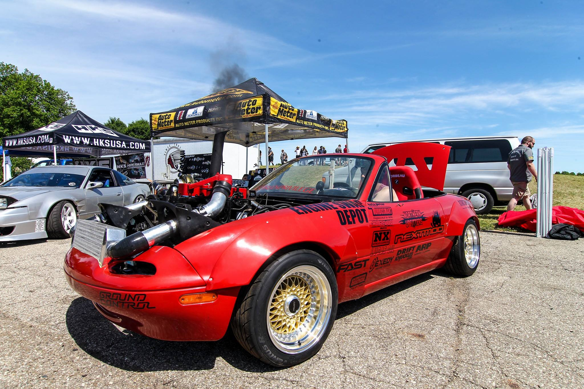 Mazda Miata With A Cummins 4bt Engine Swap Depot