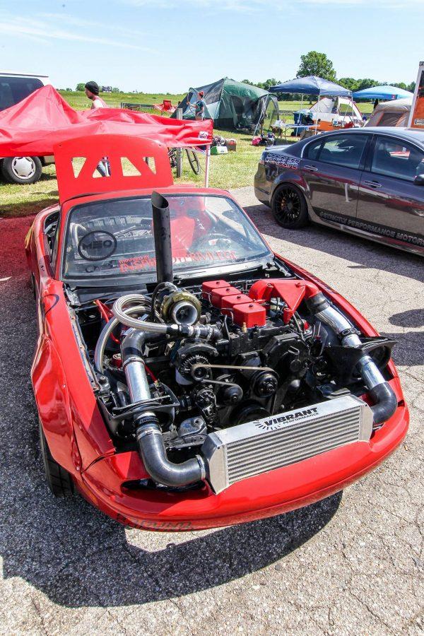Mazda Miata with a Cummins 4BT
