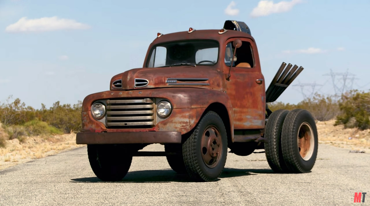 Stubby Bob Ford F Dump Truck With A Supercharged Bbc V