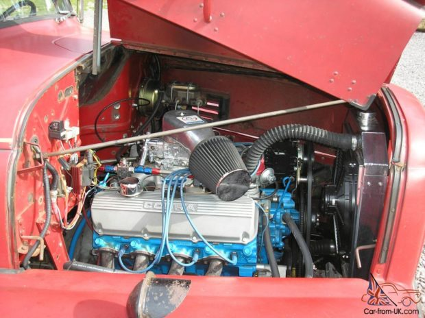 1954 International Fire Truck with a Ford 460 ci V8