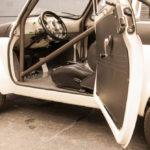 1957 Fiat 500 with a 2.5 L Subaru EJ25 flat-four