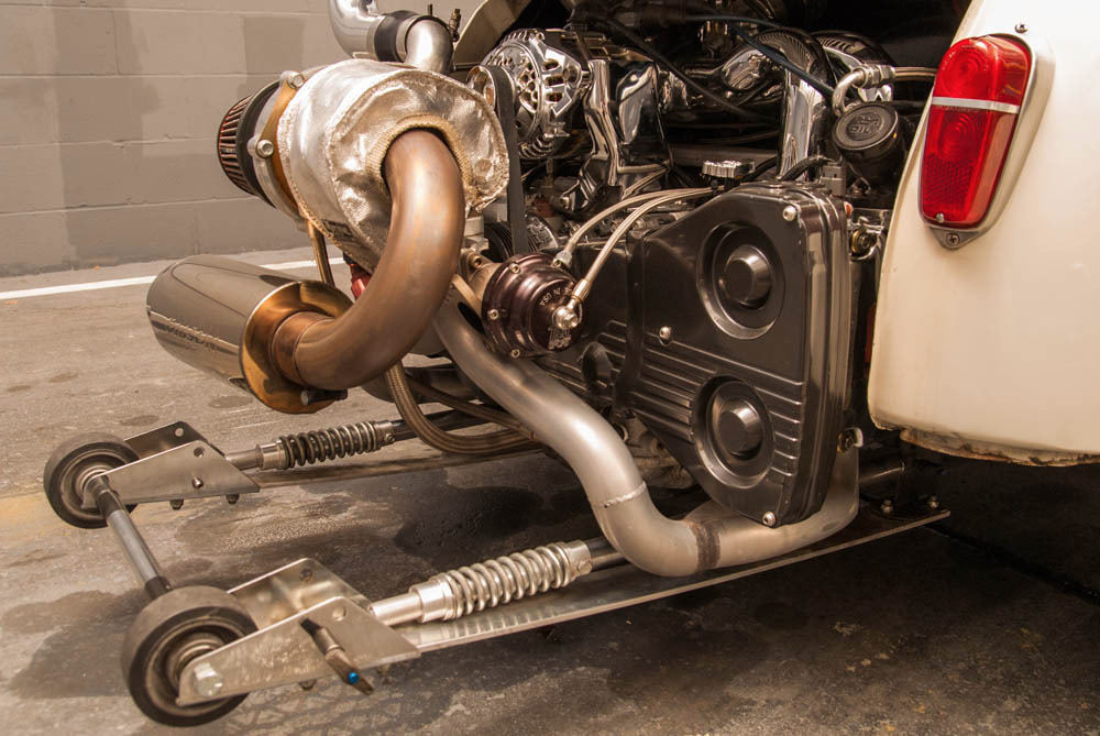 1957 Fiat 500 With A Subaru Ej25 Engine Swap Depot