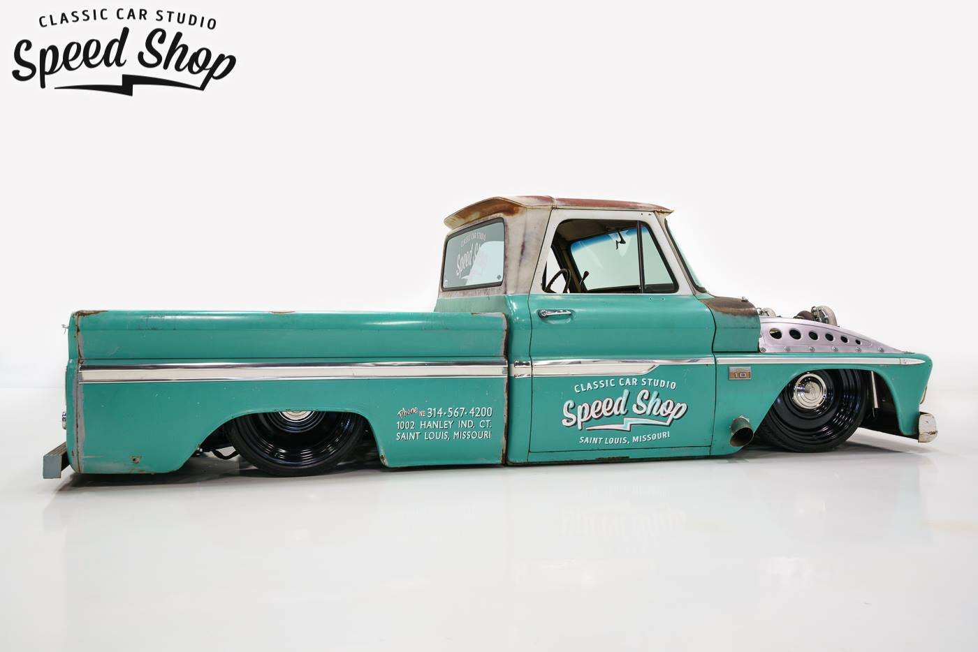 Chevy C10 With A Twin Turbo Ls1 Engine Swap Depot 1966 Custom If You Happen To Be Going Lsfest 2016 Stop By The Holley Booth See Truck