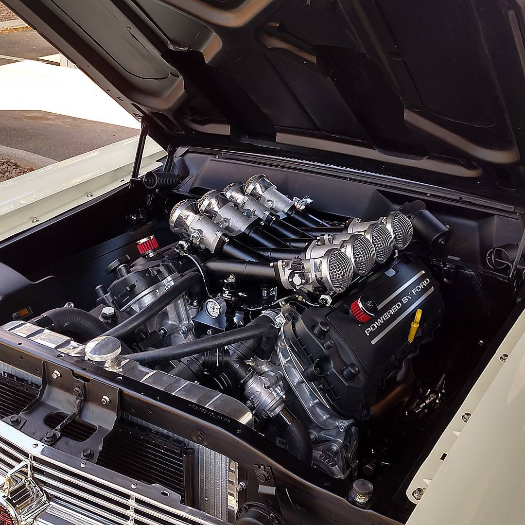 1957 Ford Coyote Engine Swap 1957 Free Engine Image For