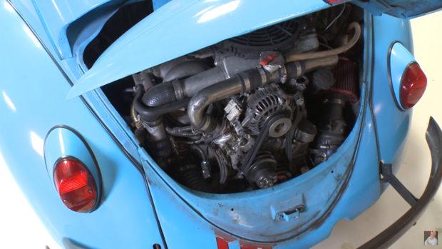 1966 VW Beetle with a turbo Mazda 13B