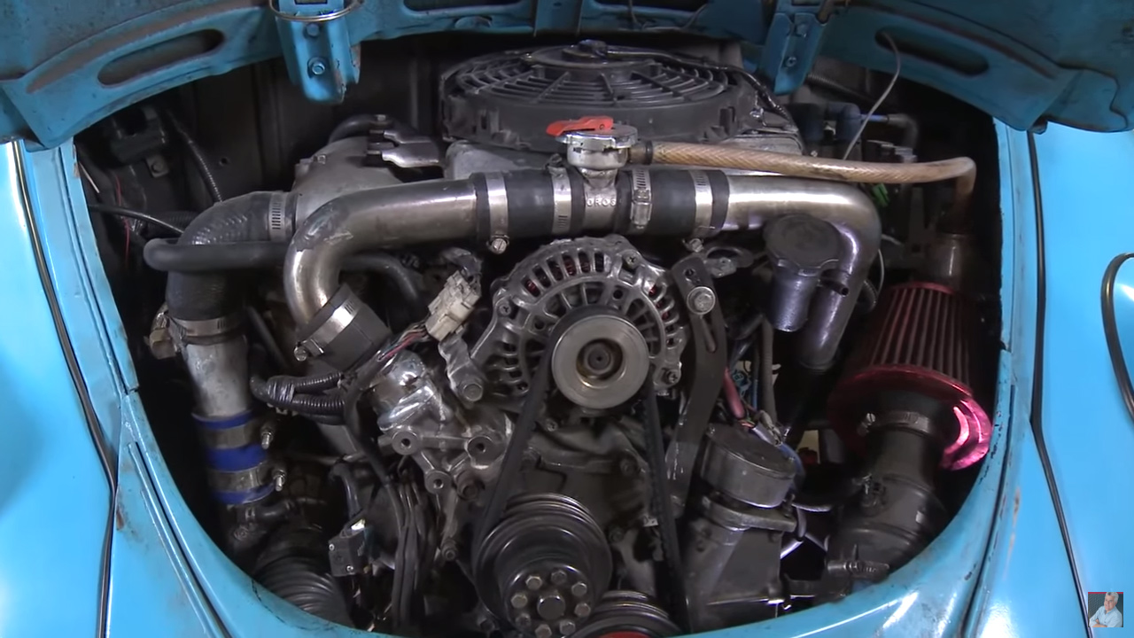 1966 VW Beetle with a Turbo 13B – Engine Swap Depot