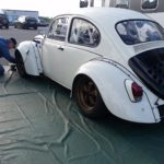 1971 VW Beetle with a Honda CBR1000RR inline-four