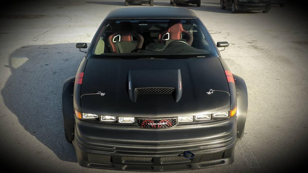 Oldsmobile Cutlass Supreme With A Turbo Buick V6 Engine